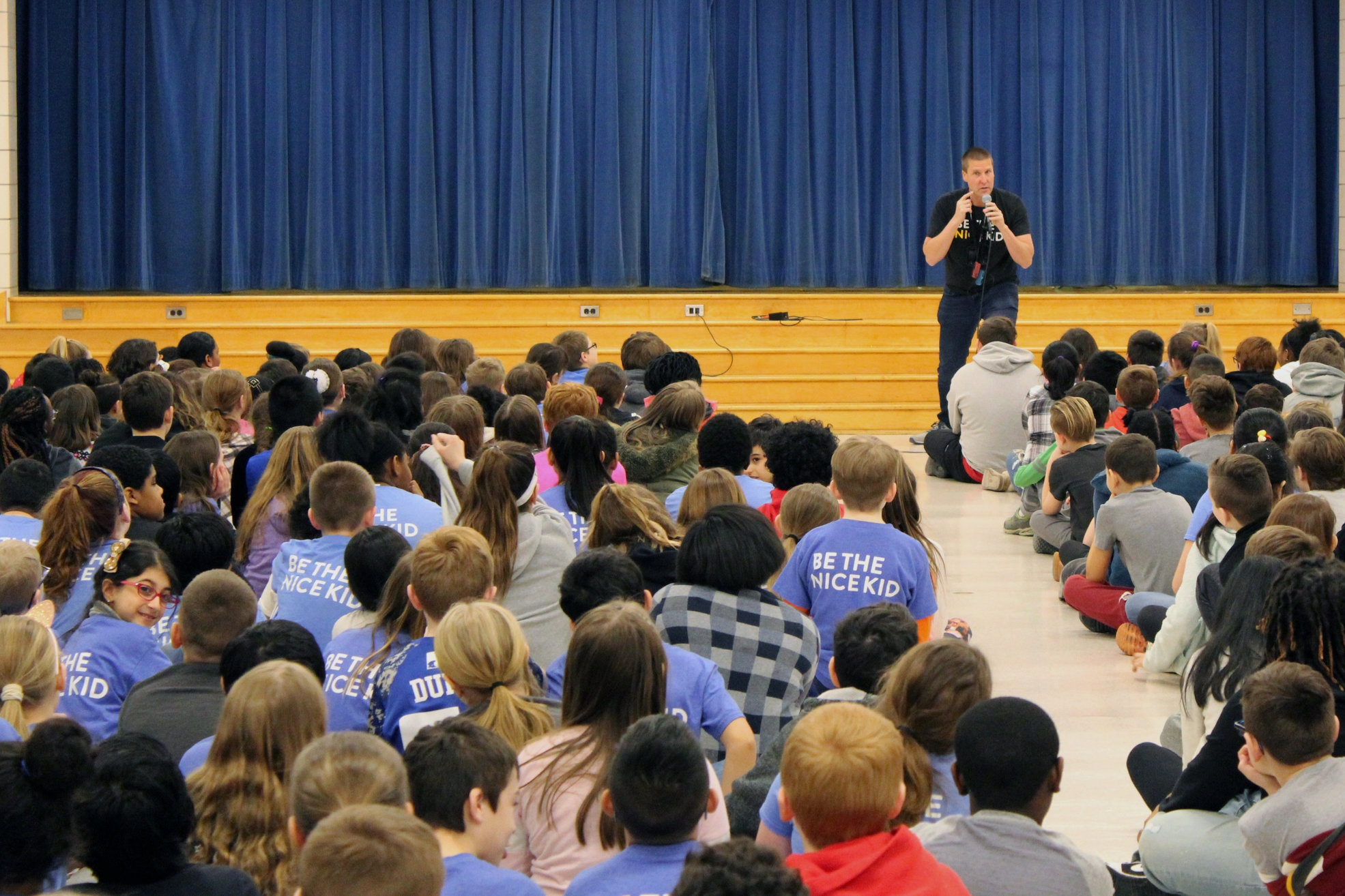 Assemblies - Inspirational, motivational, and a lot of fun. Bryan brings his humor to the whole school and engages the kids in a 40-45 minute fast-paced, interactive, story-filled performance.