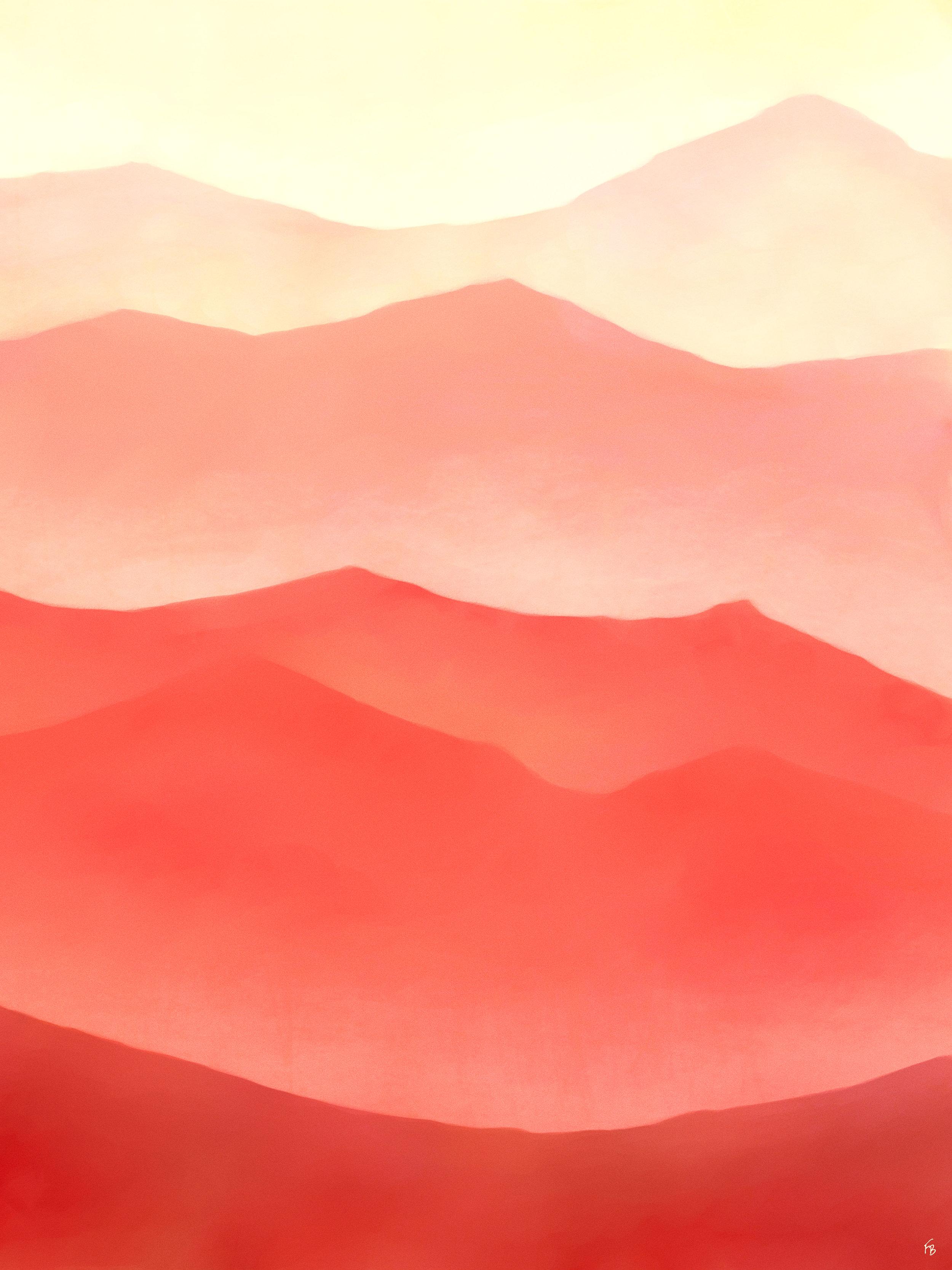 Orange slopes
