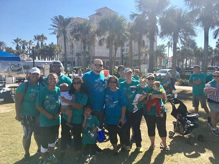 Down Syndrome Association of Jacksonville, Florida Buddy Walk 2017