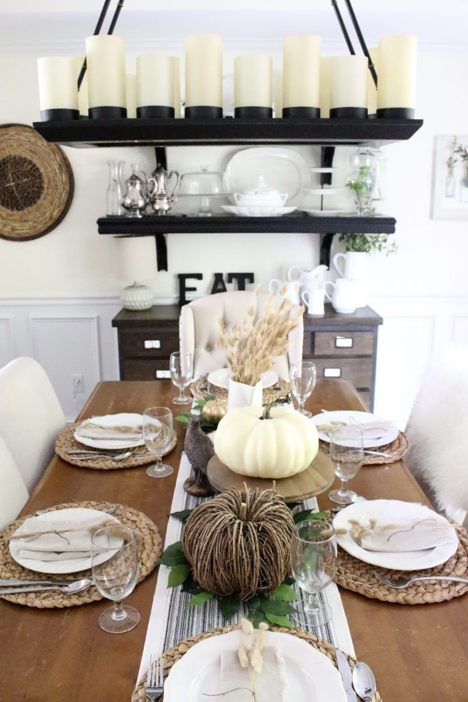 """If you're dreaming of fall looks without typical autumnal tones, Amy's """"Neutral & Serene Fall Home Tour"""" is all the inspiration you'll need."""