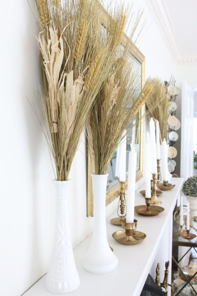 She continues the celebration of a neutral palette with this elegant gilded dining room look.