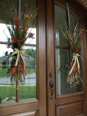 Fall Door Swag by Julie