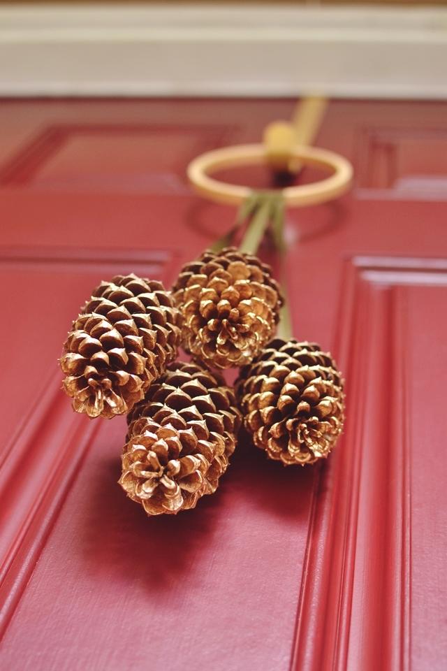 Pinecone Door Accent by Lynet