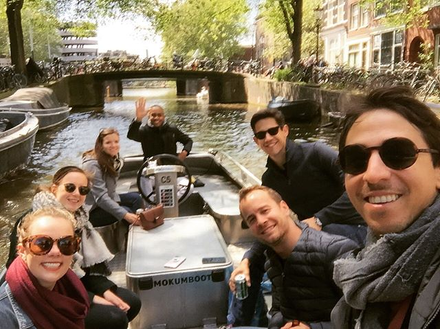 2 Dutchies, 2 Austrians, a Canadian, a Mexican, and an American take on Amsterdam.