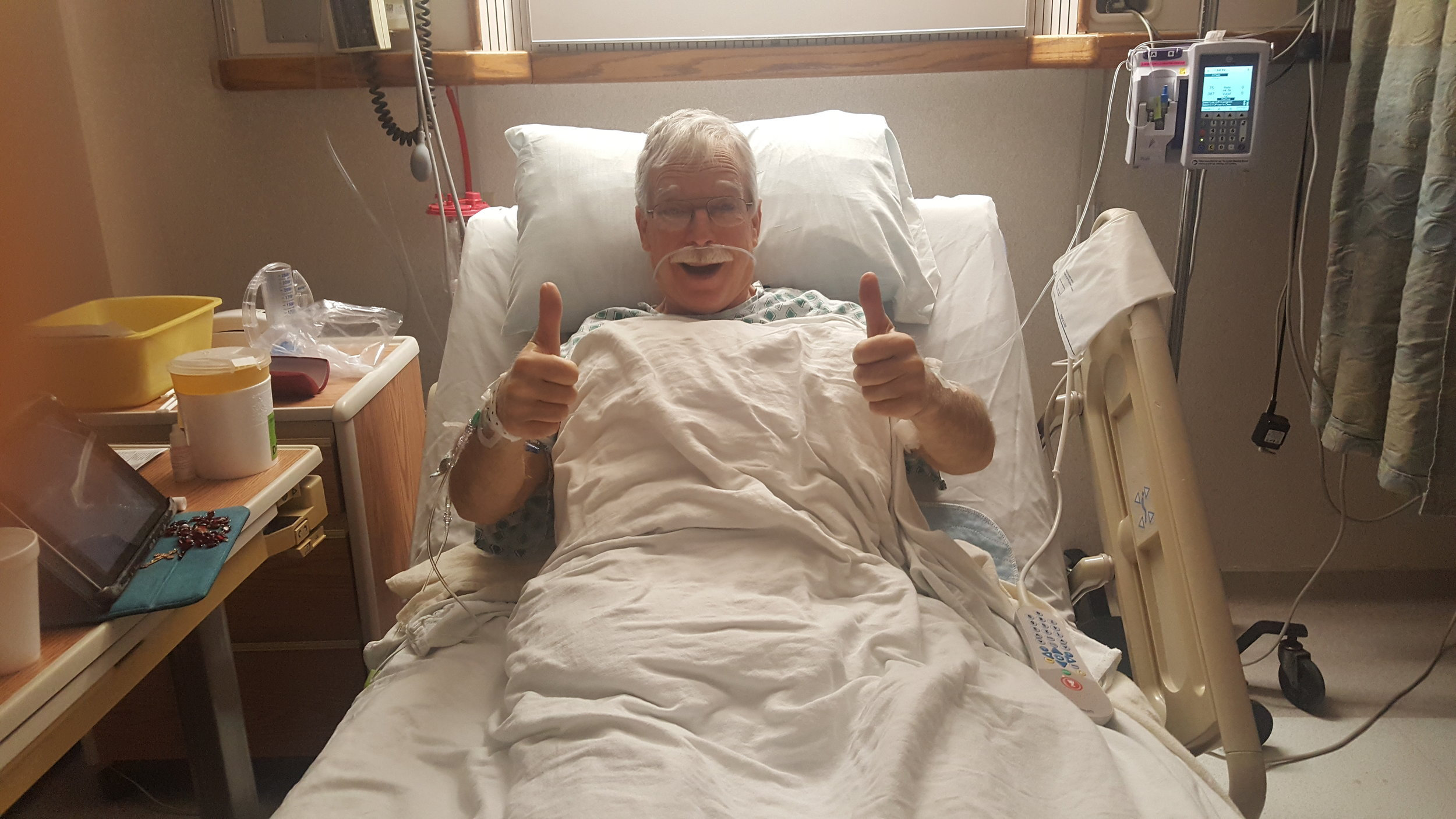 Don didn't have any hesitations about donating a kidney before or after his surgery.