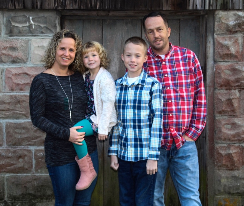 Thanks to Christy's kidney donation to her husband Steve, their kids now have two healthy parents.