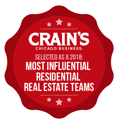 Selected as a 2018: Most Influential Residential Real Estate Teams