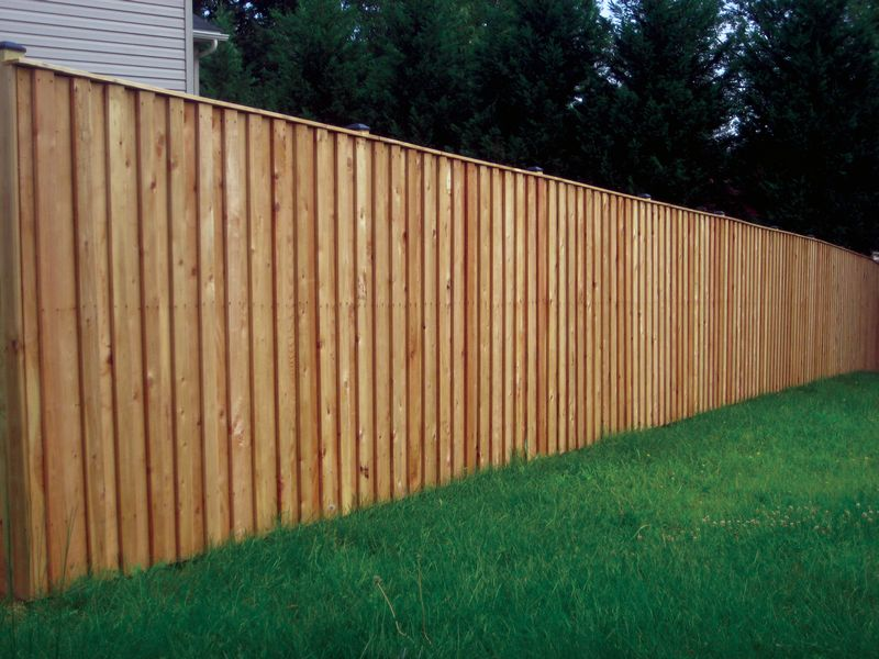 Board and Batten Fence