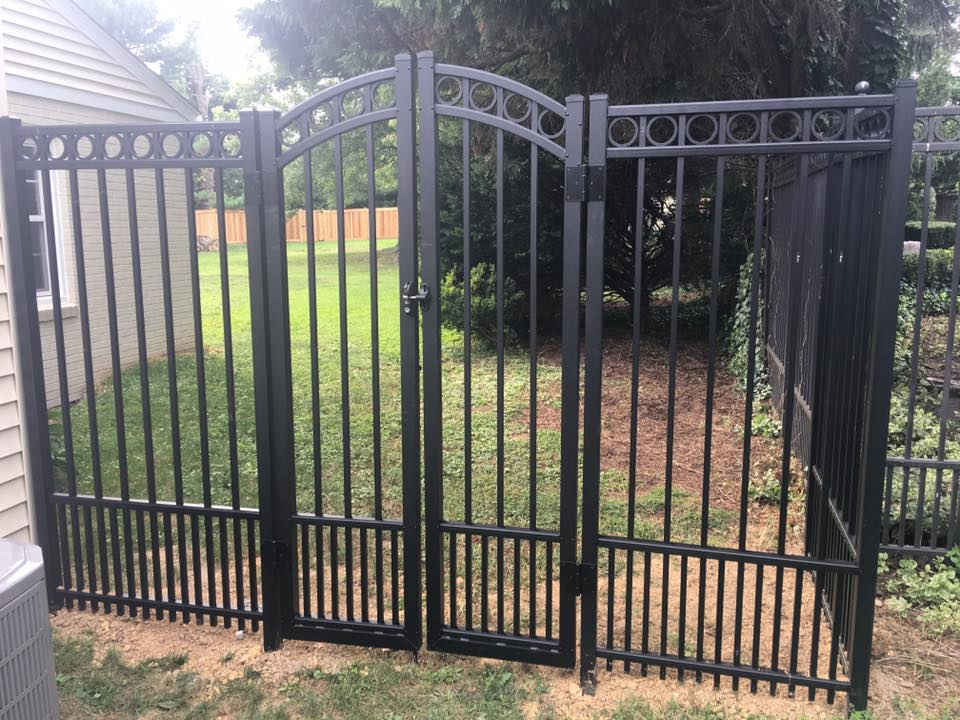 Aluminum Fence manufactured by  Ultra Aluminum