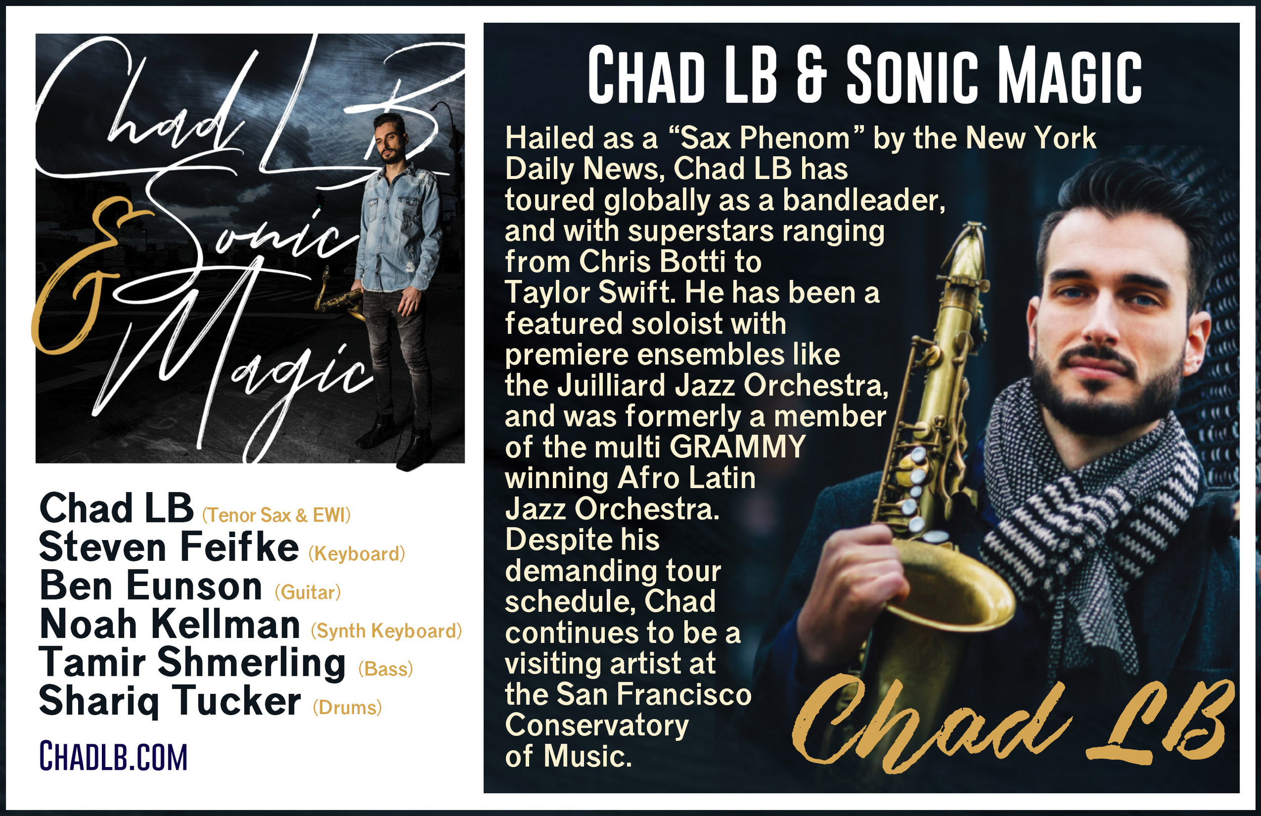 Chad LB & Sonic Magic