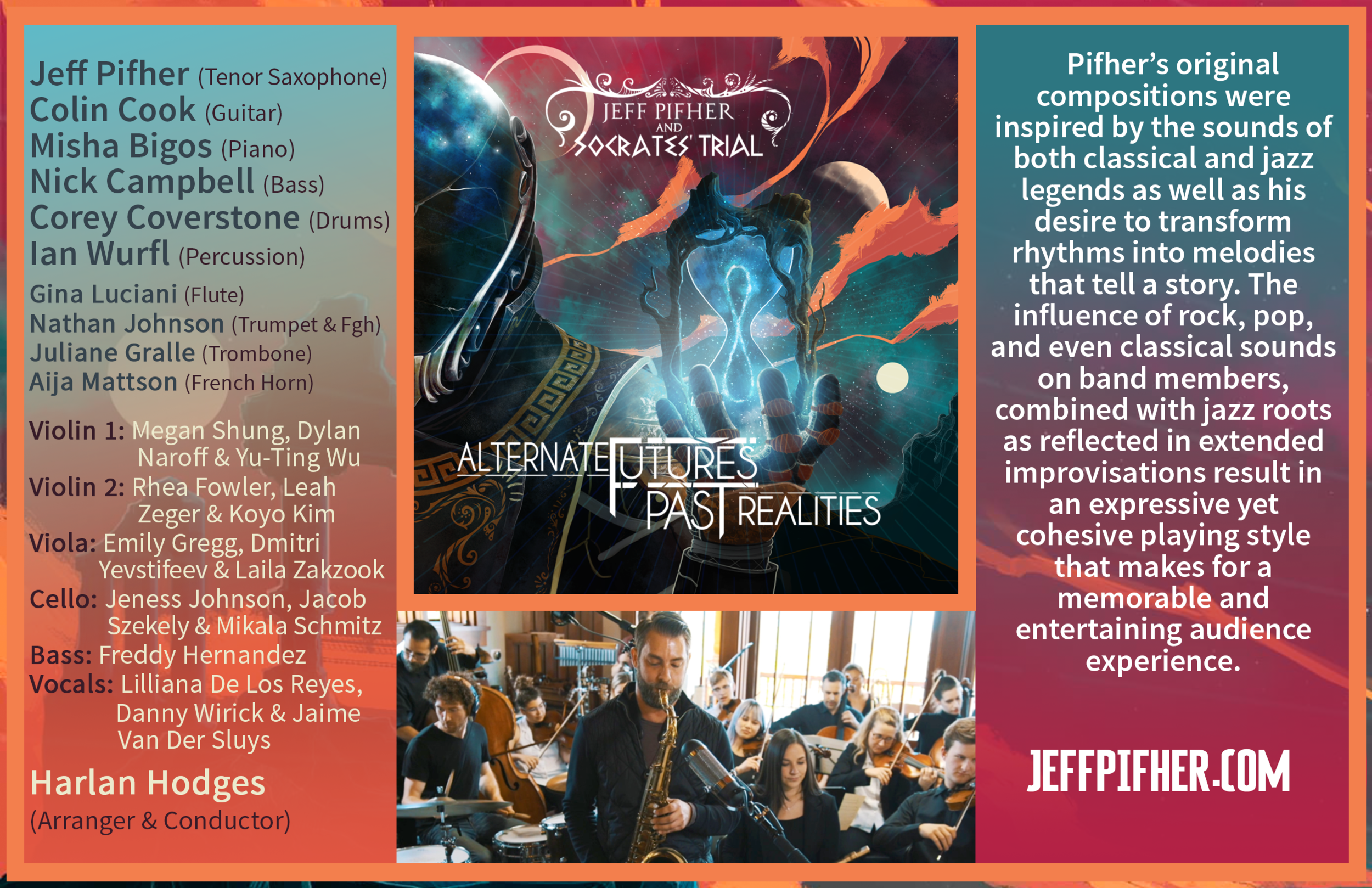 "Jeff Pifher and Socrates' Trial - ""Alternate Futures / Past Realities"