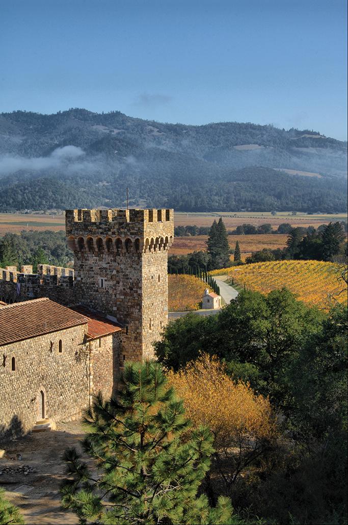 Courtesy Castillo di Amorosa