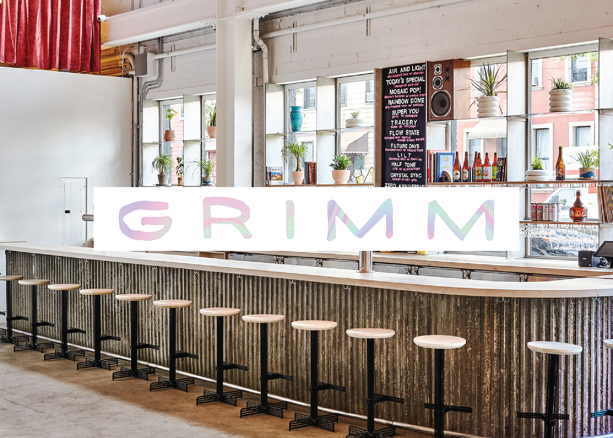 Grimm Artisanal Ales - 990 Metropolitan Ave, Brooklyn, NY 11211