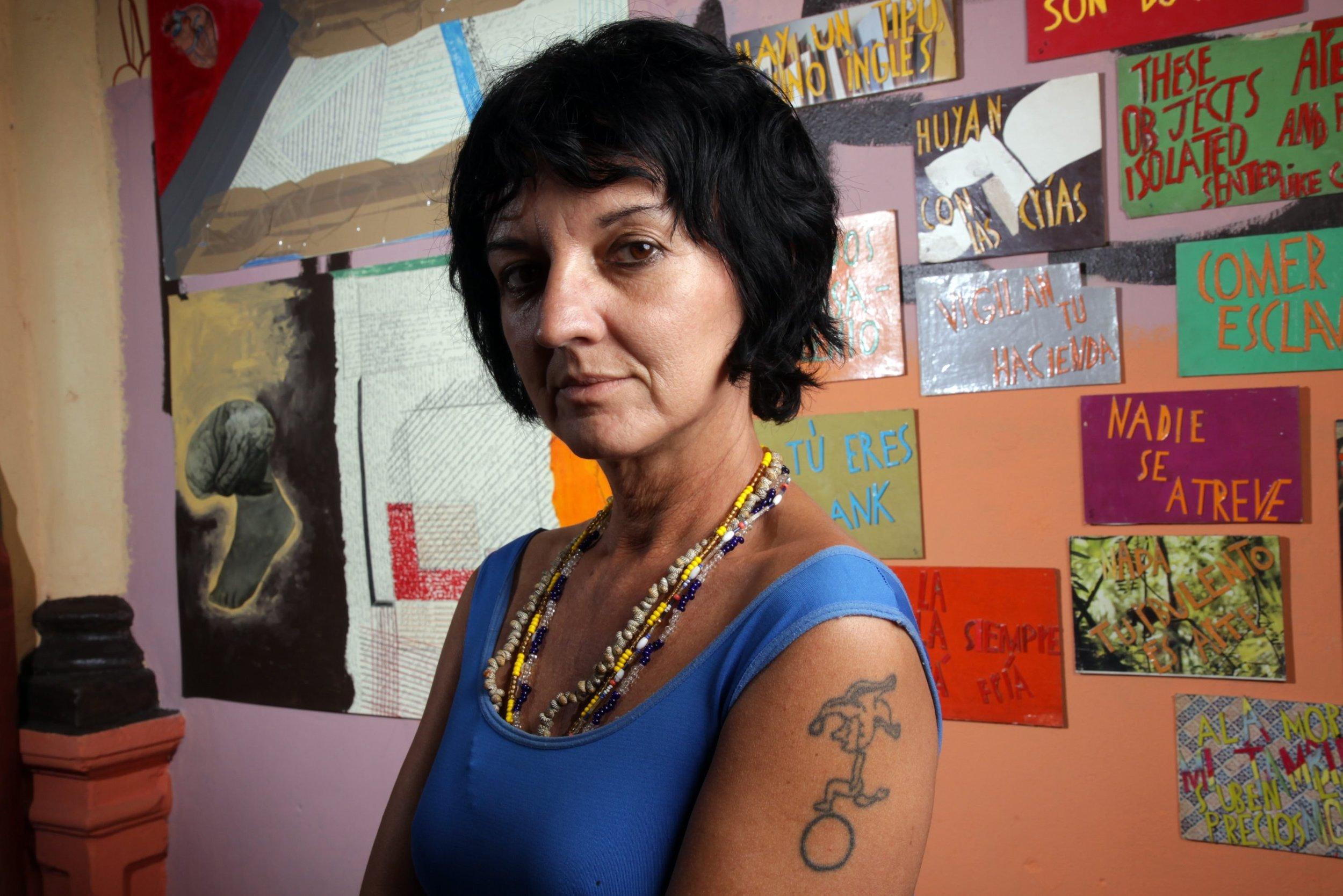 Aglutinador director Sandra Ceballos.
