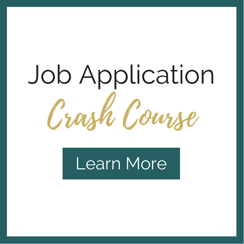 Job Application crash course for graduate students