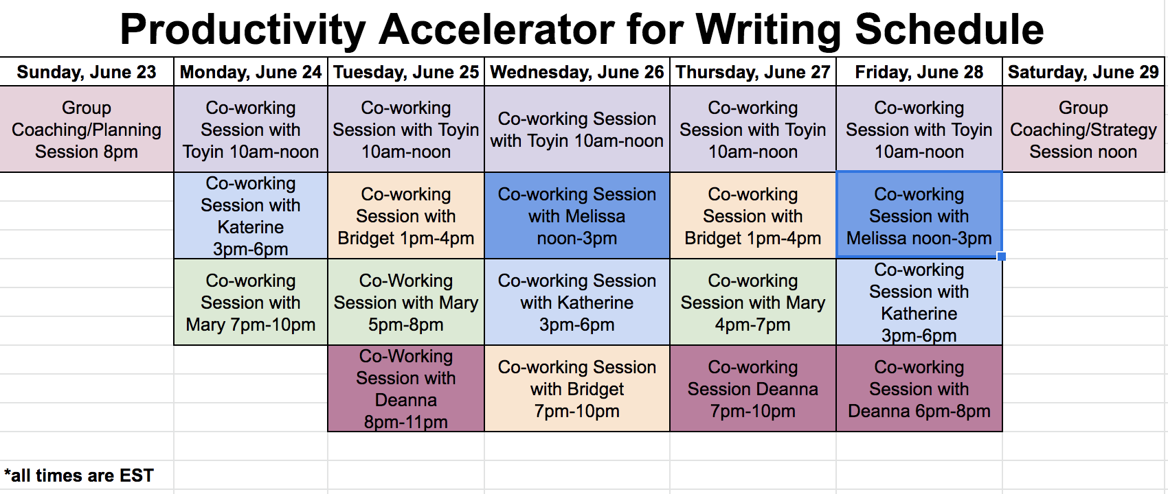 Productivity Accelerator Schedule The Academic Society.png