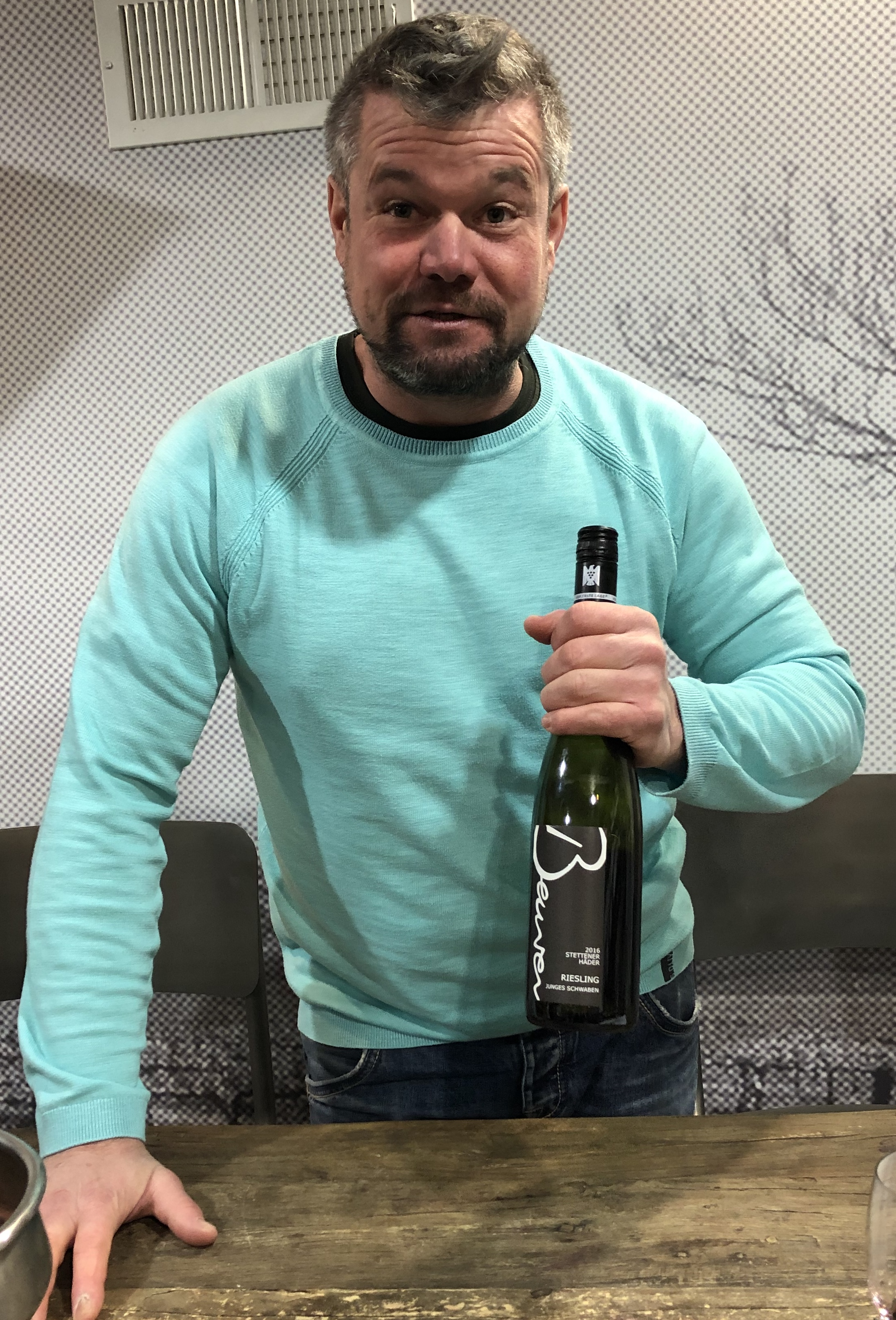Jochen Beurer Reimagines the Future of Württemberg Wine - A surge of energy and ideas, far more sensitive farming and winemaking, and above all a sense of local pride over outside prejudice are bearing out this Remstal renegade's pioneering vision for the region. March 2019.