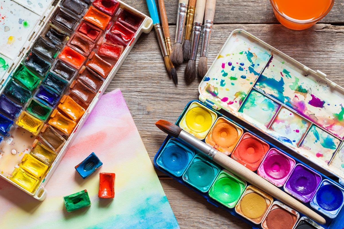 """Sketchbooks, coloring books, and all manner of """"art-kits"""" to take the guesswork out of what to buy. There will be free lessons on YouTube to help educate about the products available."""