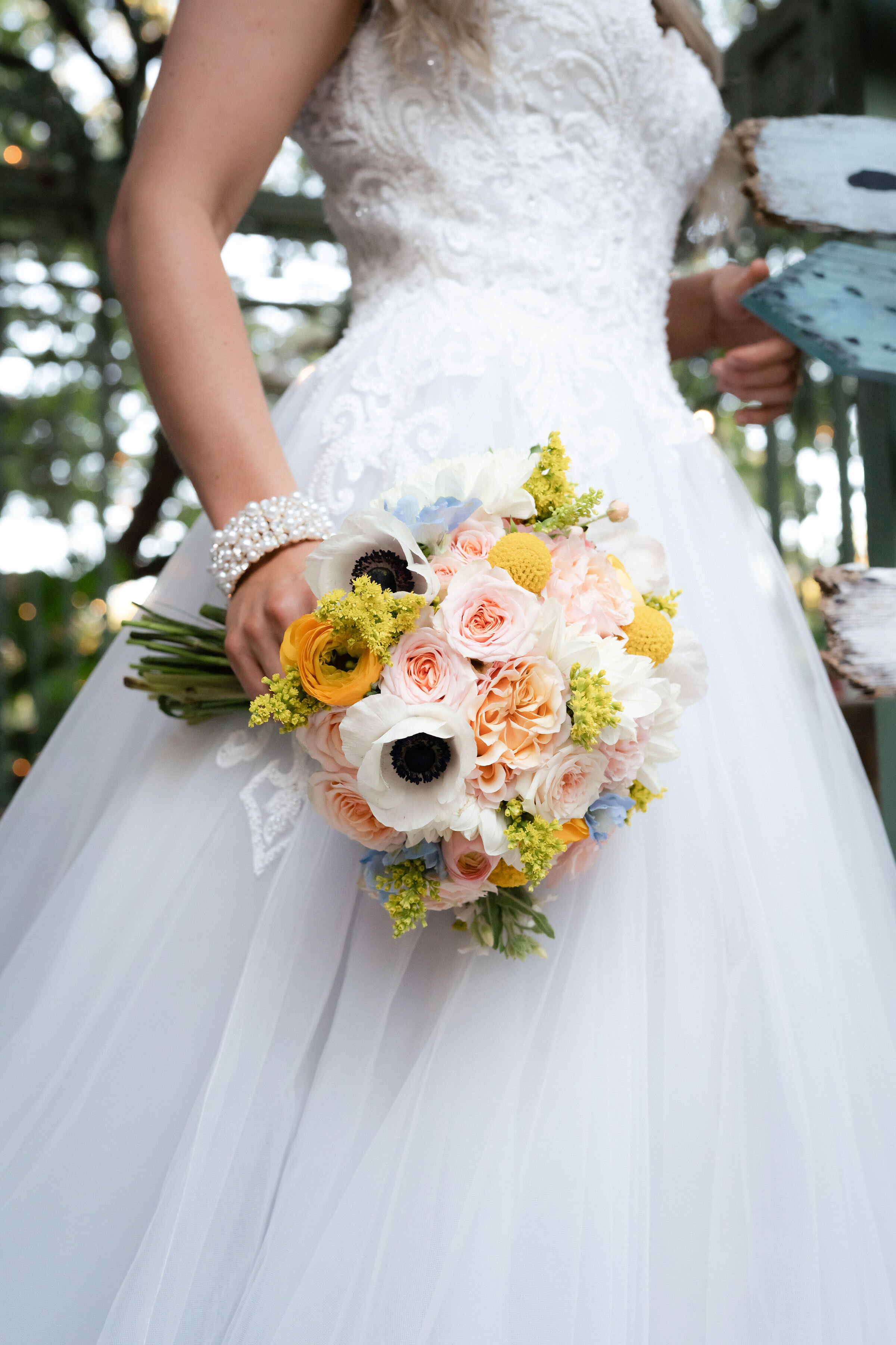 Wedding Bouquet by  Fragrant Nirvana   Photo by  J. Penrose Photography