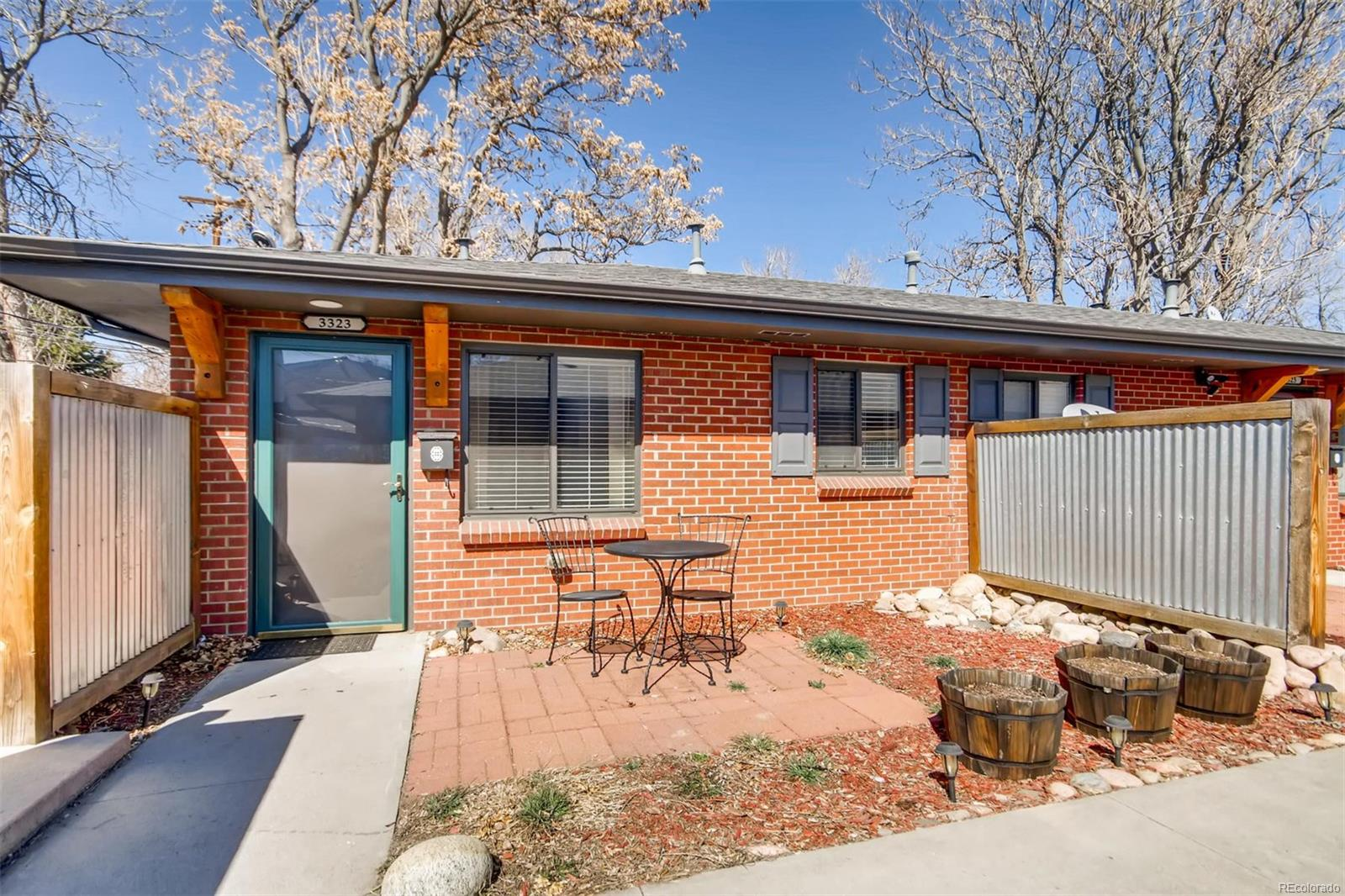3323 Eliot St - $299,9951 bed, 1 bath538 sqftFirst Time Home BuyerFront patio AND back patio (with two sheds)Bright and Homey