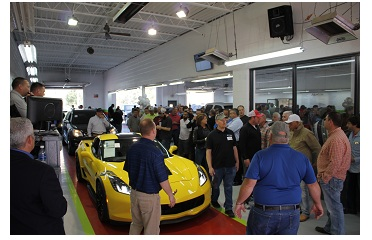 Sale day at FastLane Auto Exchange is attended by an average of 360 dealers bidding on more than 700 vehicles.