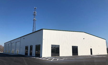 The new detail, condition report, online and marketing facility at Greenville Auto Auction is set to open in February.