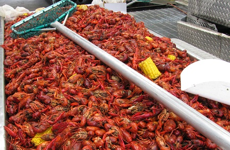 LAFCAA's Anniversary Sale will feature 800+ units and 1,000 pounds of Louisiana crawfish, and will be followed by a John Dough Gift Auction .