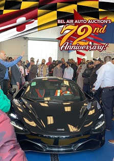 Bel Air Auto Auction celebrated its 72nd Anniversary on April 17th and 18th .