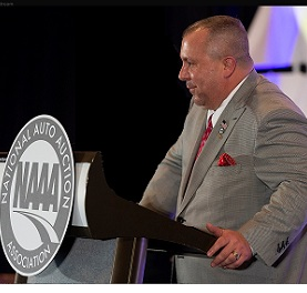 Chad Bailey concludes his term as President at the NAAA Convention in Indianapolis