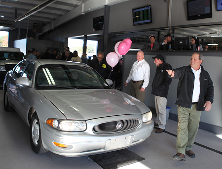 Last year's Breast Cancer Awareness Sale at Akron Auto Auction raised $7,000 for cancer research and treatment.