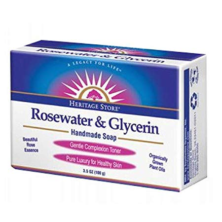 Rosewater + Glycerin Body Soap