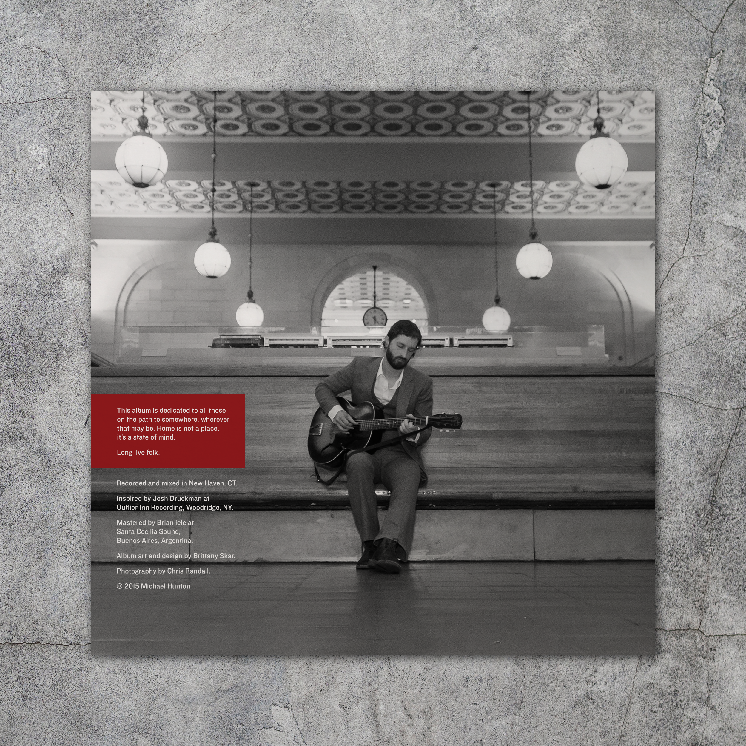Back Cover of Album