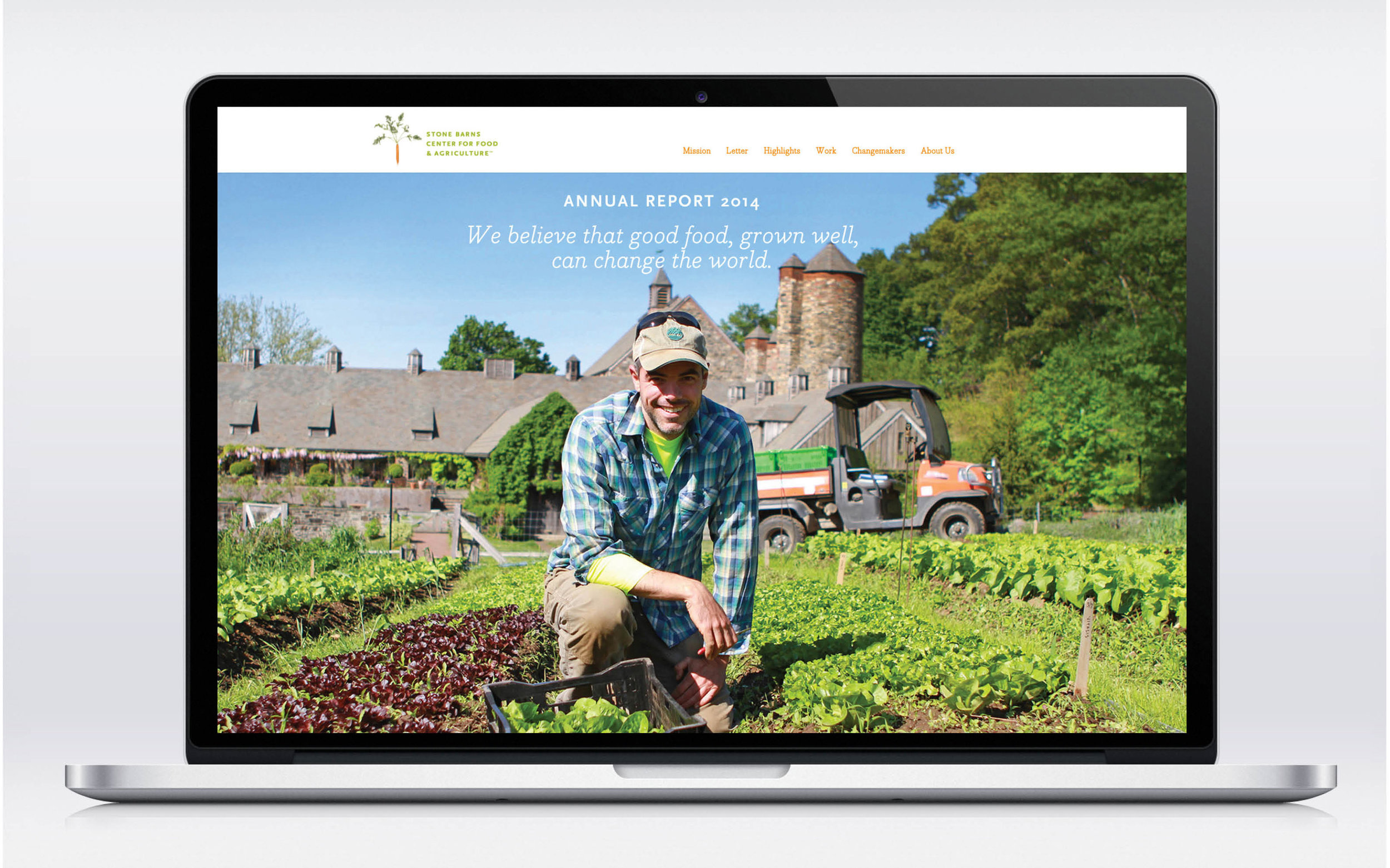 Stone Barns Annual Report