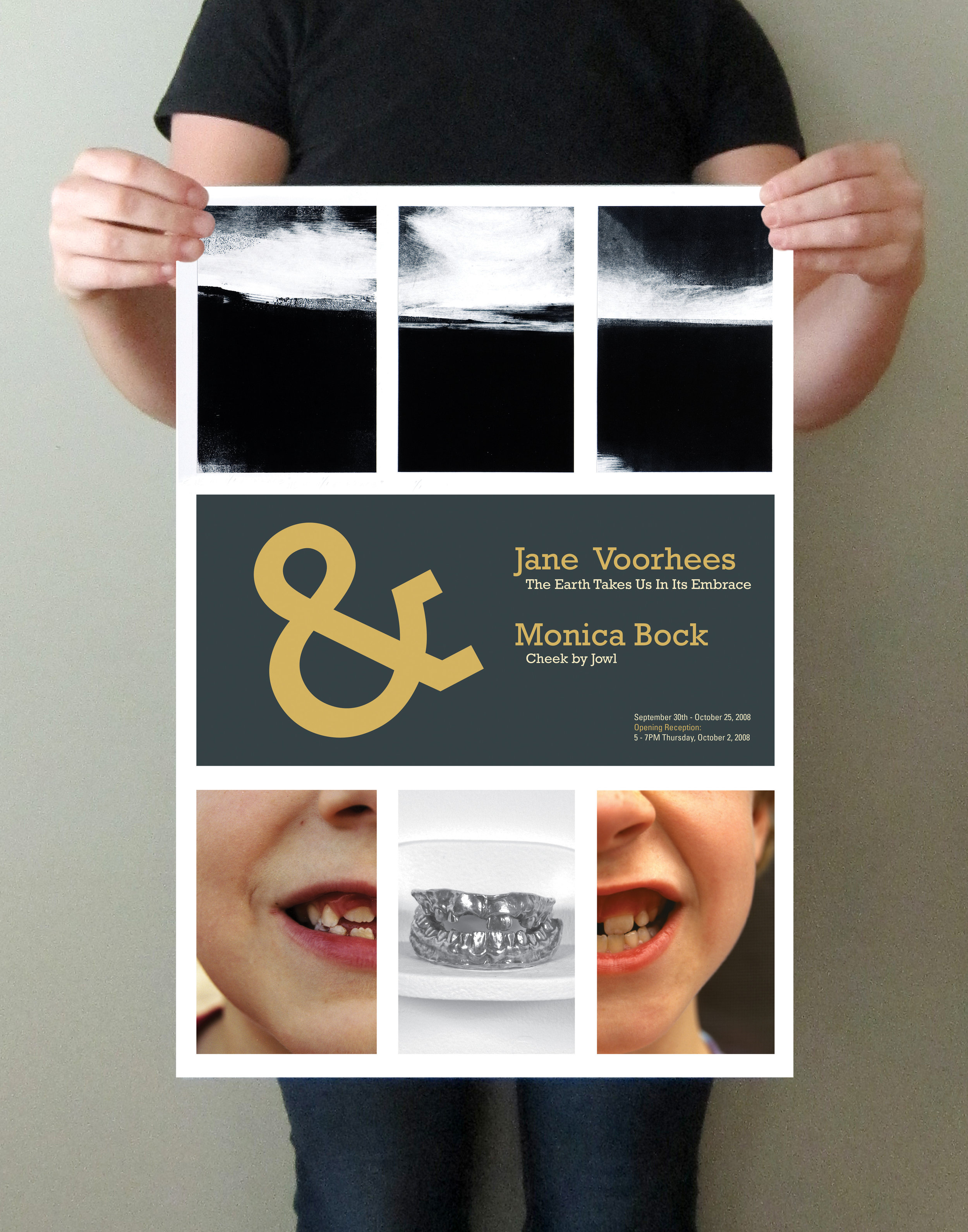 Voorhees | Bock Art Opening Poster & Card
