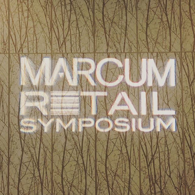 More focus on sustainability at today's annual Marcum Retail Symposium. . . . . . #fashion #textiles #apparel #sustainable #sustainablefashion