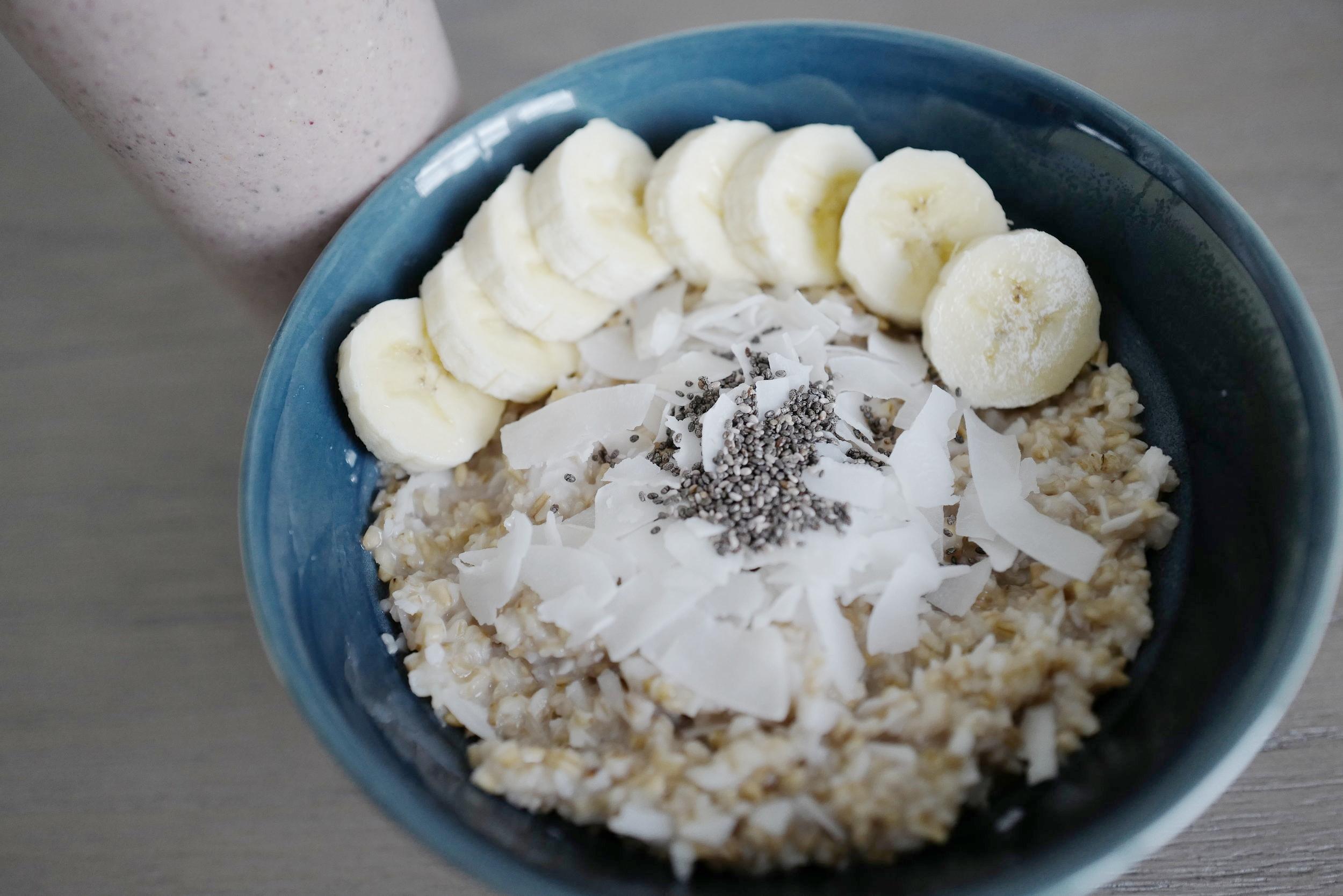 CoCoNut Overnight Oats- Food- A Briutiful Life