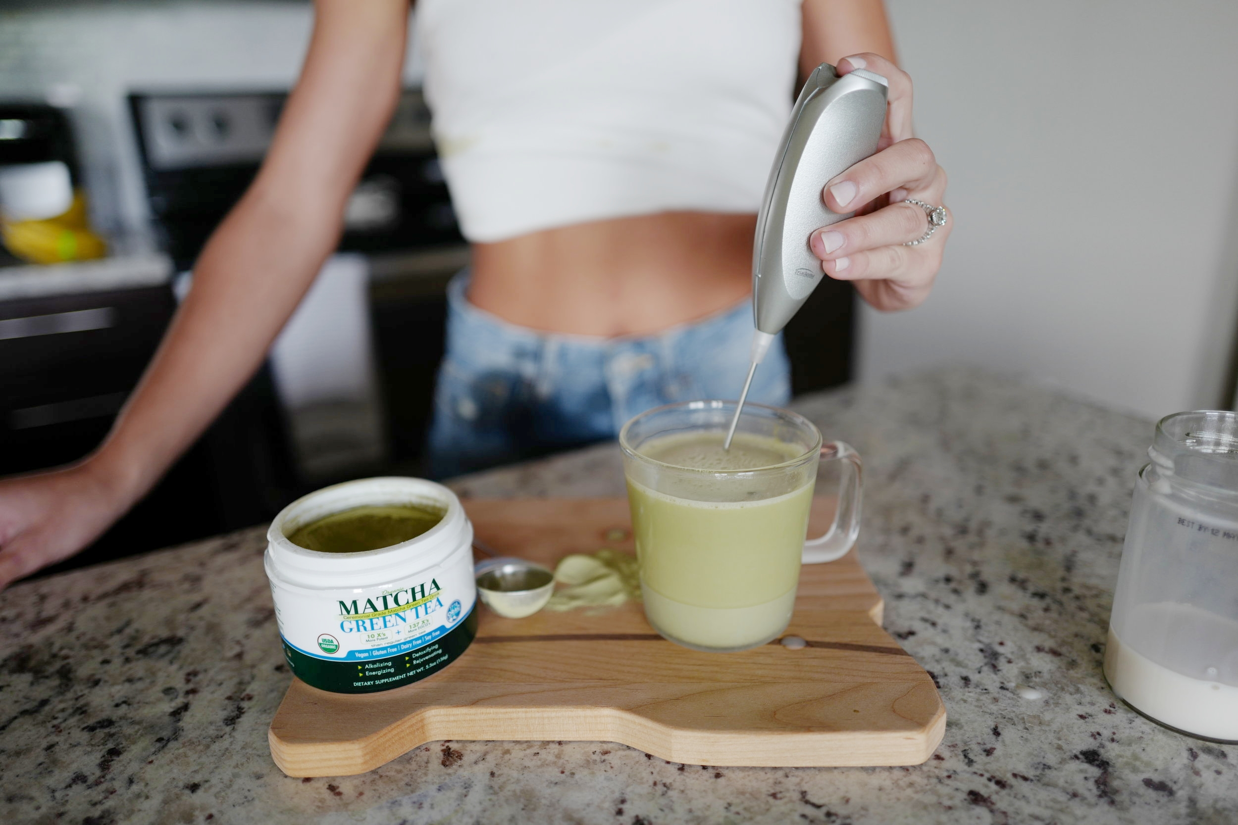 Matcha Latte- Food- A Briutiful Life