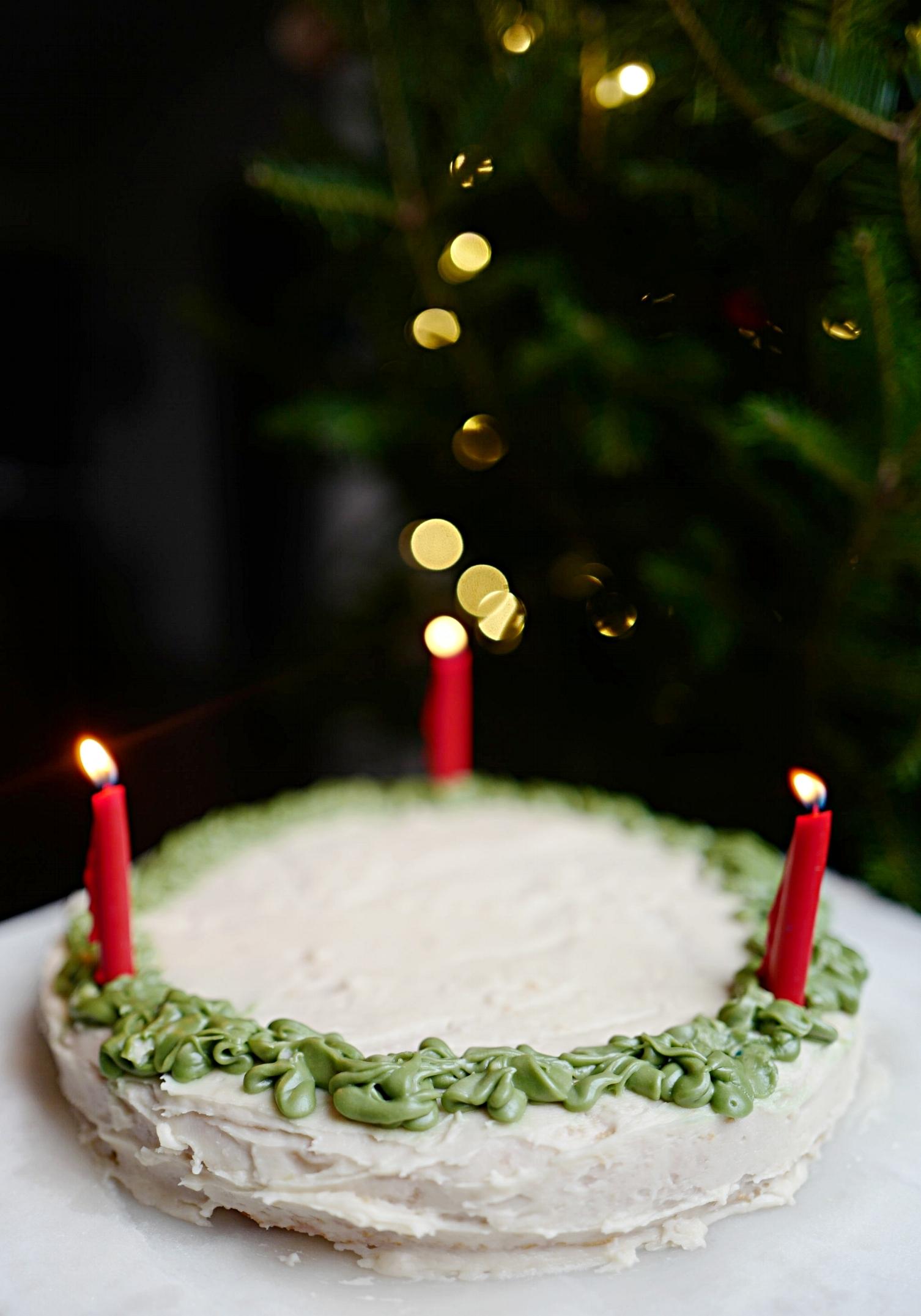 Jesus Birthday Cake- Food- A Briutiful Life