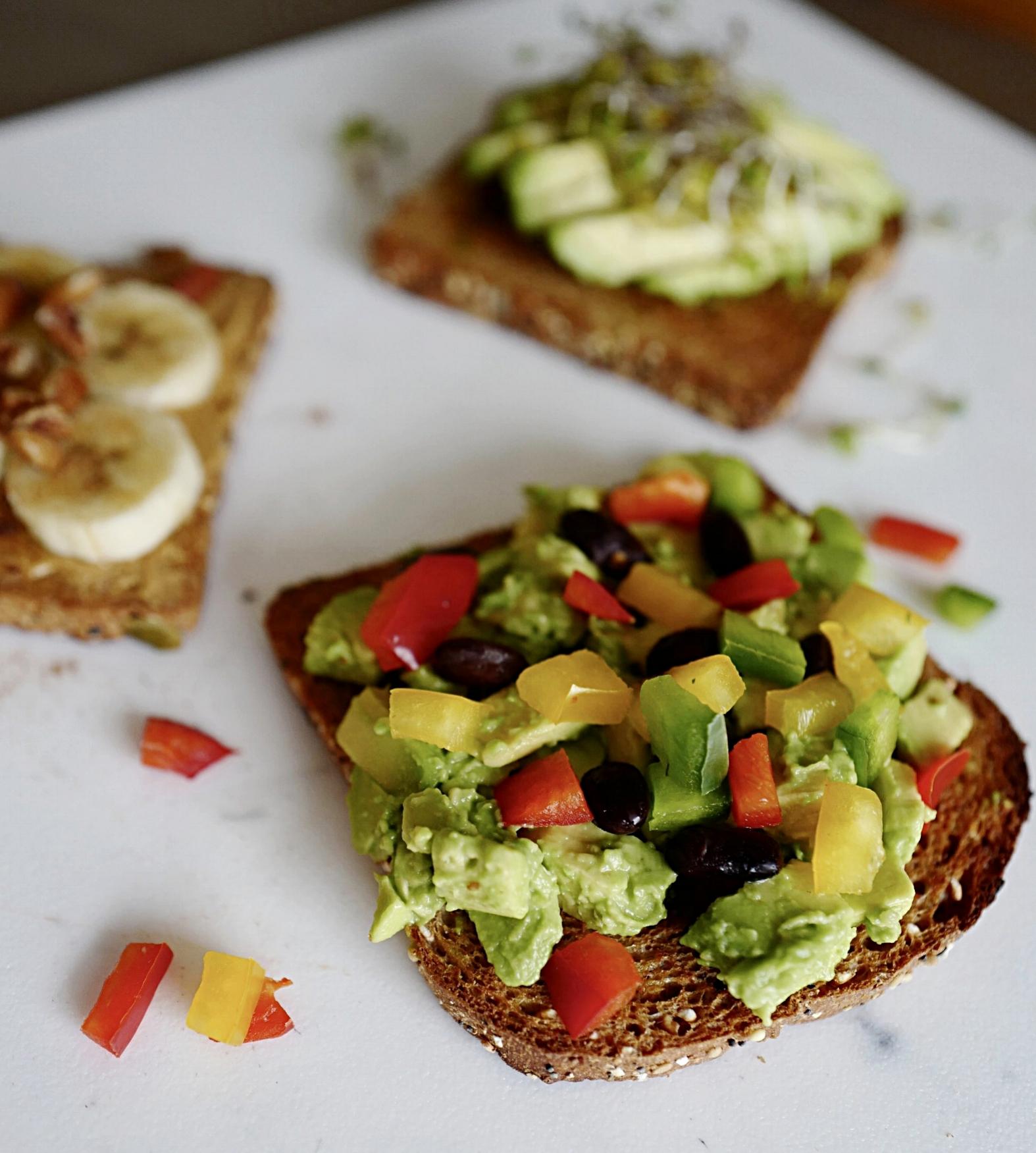 Talking Toast- A Briutiful Life- Food