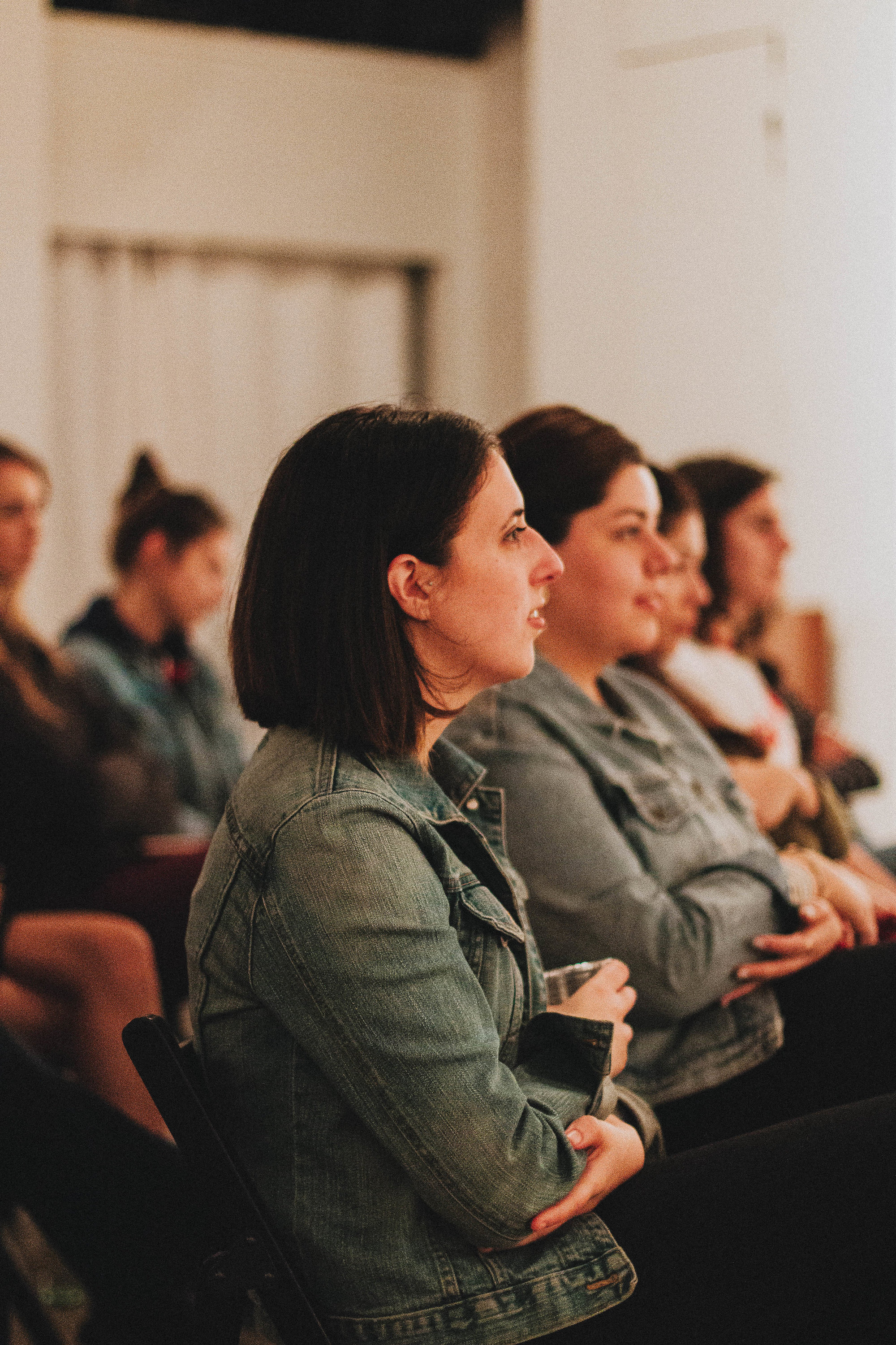 Audience from a panel event featuring Kendall Antonelli of  Antonelli's Cheese  | image by Lee Behrend
