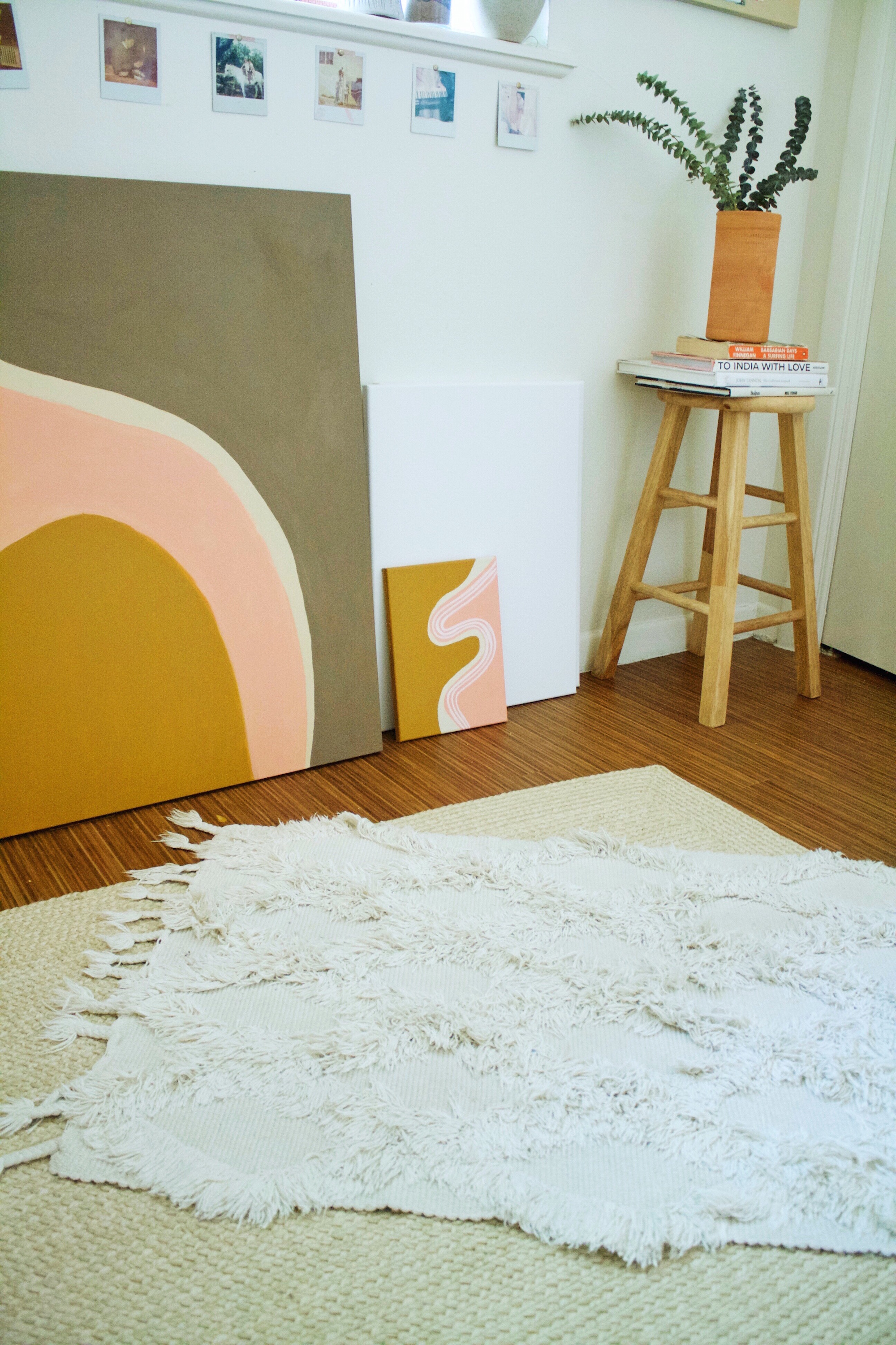 Studio visit with local artist,  Codie Kyle  | image and interview by me
