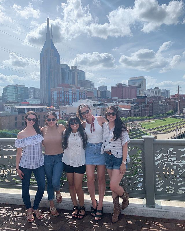 Fourth annual girls trip is in the books ✔️ I'm so grateful for this group and our dedication to getting together at least once a year. Here's to carrying on the tradition for many more years to come! #nashville