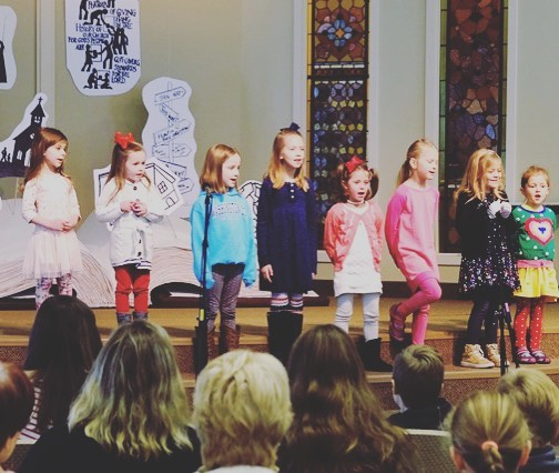 Little voices big hearts ❤️#methodistchurcheg
