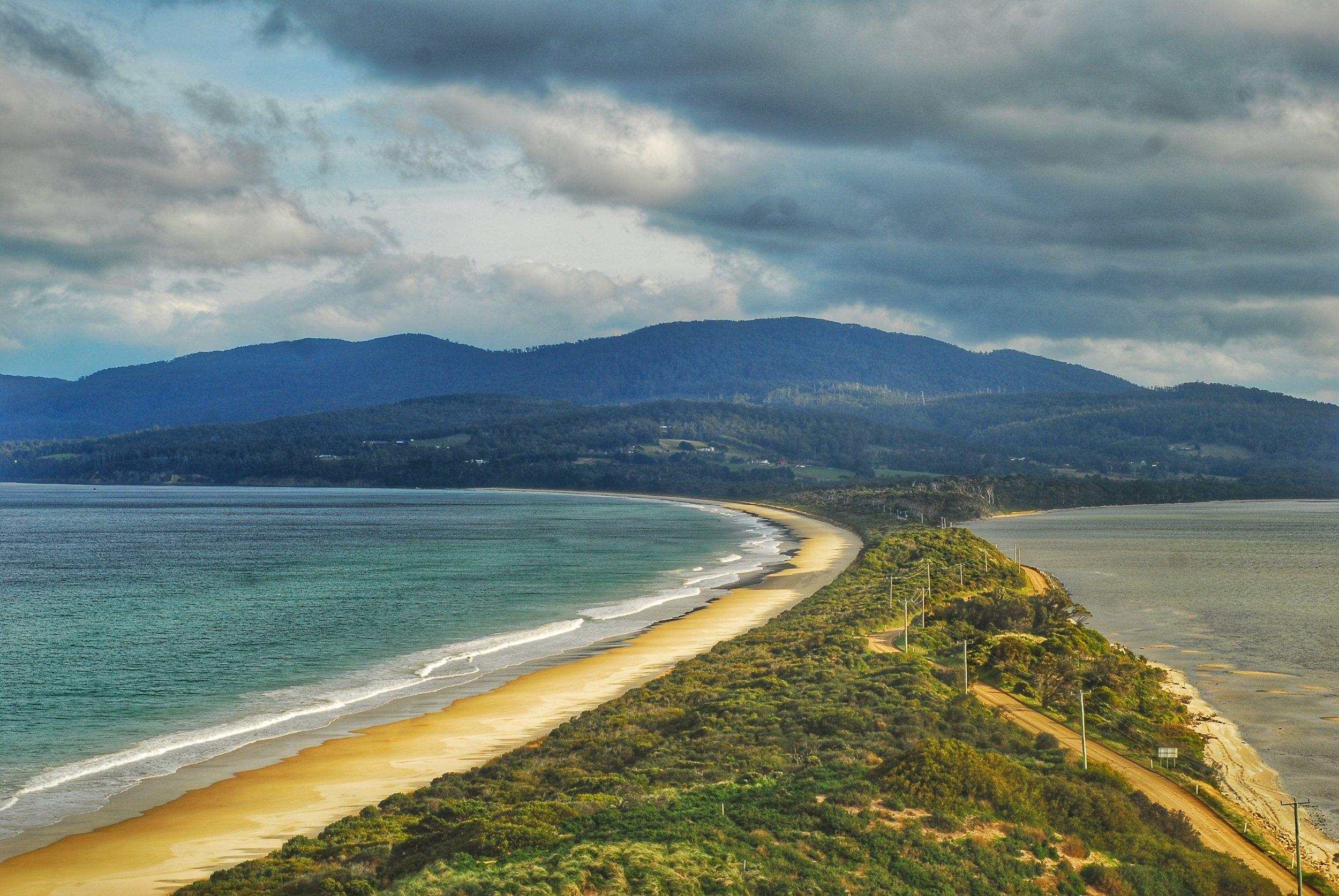 Bruny Island is located off the coast of Tasmania, Australia. Credit Samantha Andrews/Ocean Oculus