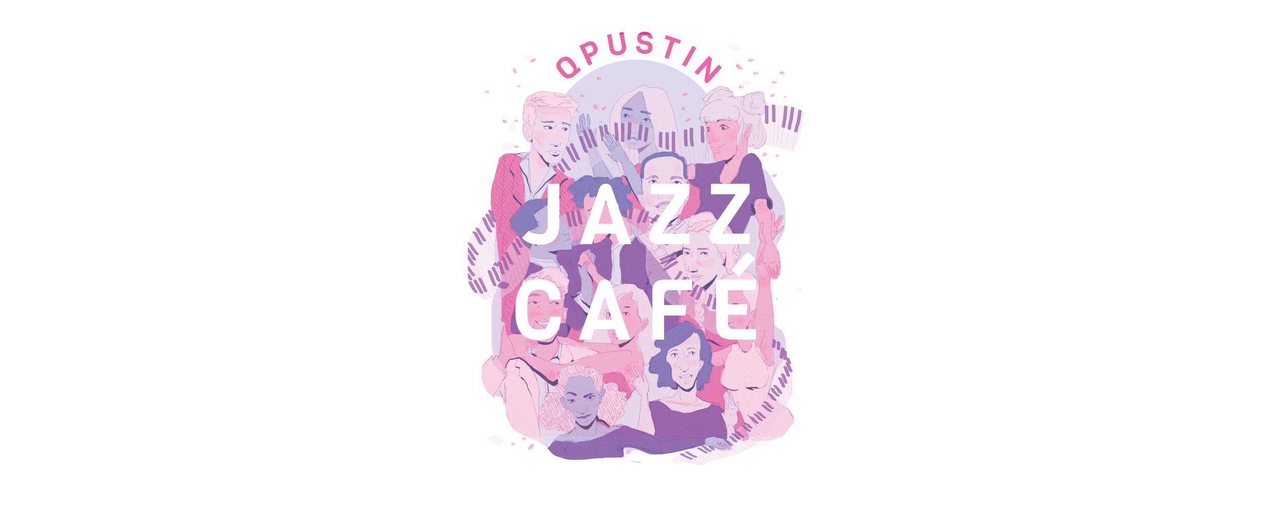 QPUSTIN  A poster for a student's jazz recital