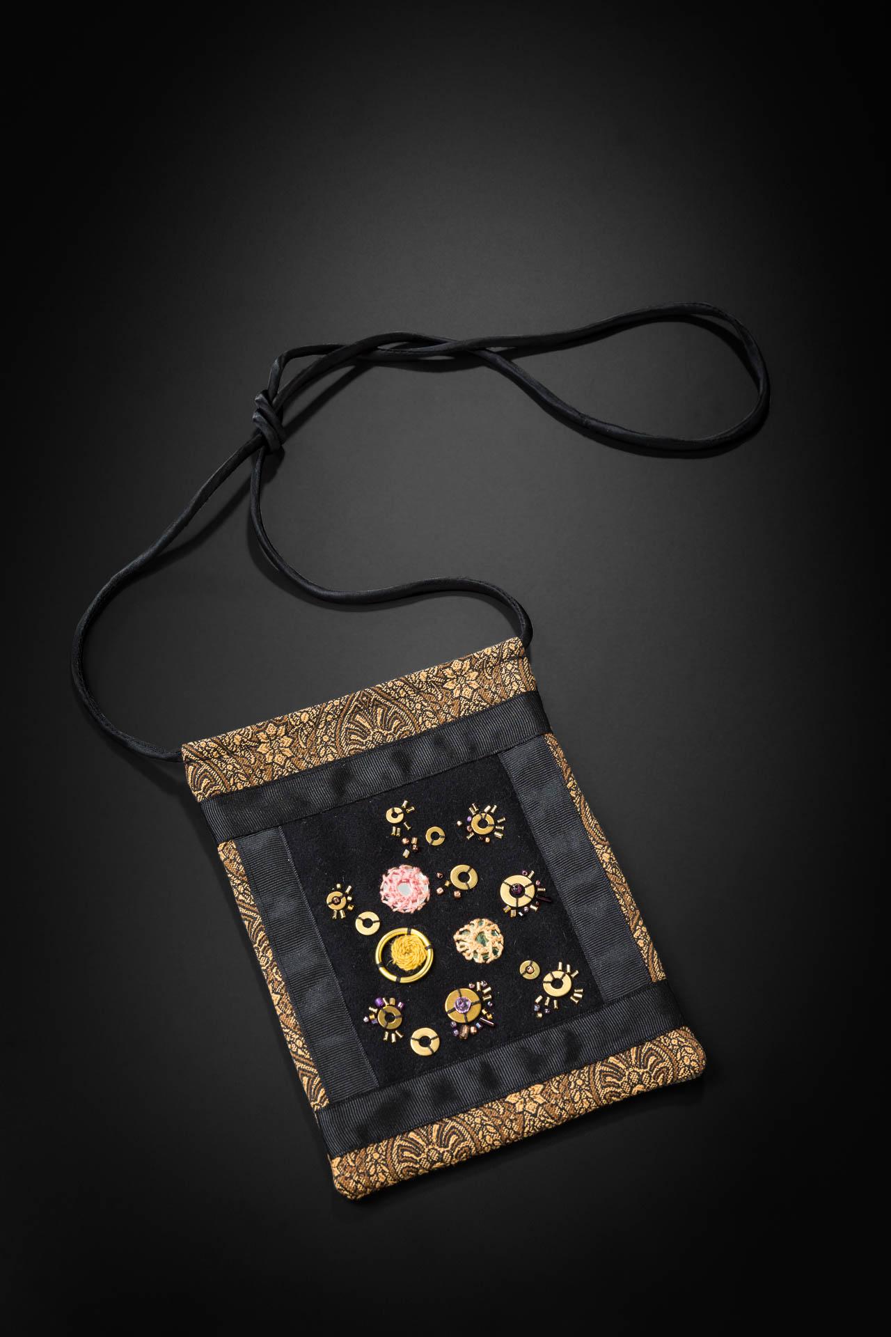 black & gold purse 'Gloria Shelton #3'.jpg