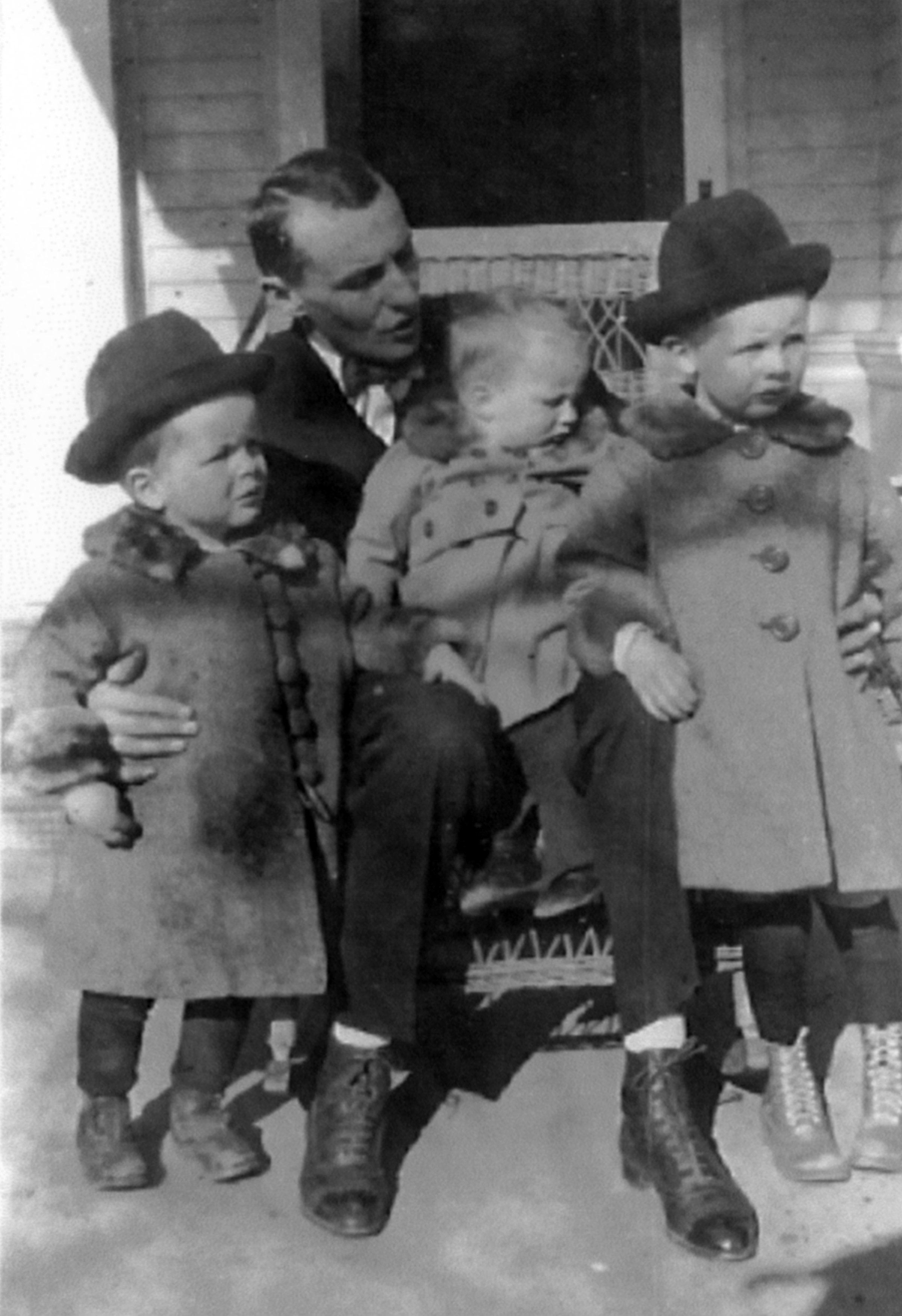Adolph III, Bill, Joe Sr, Adolph Jr - circa 1919
