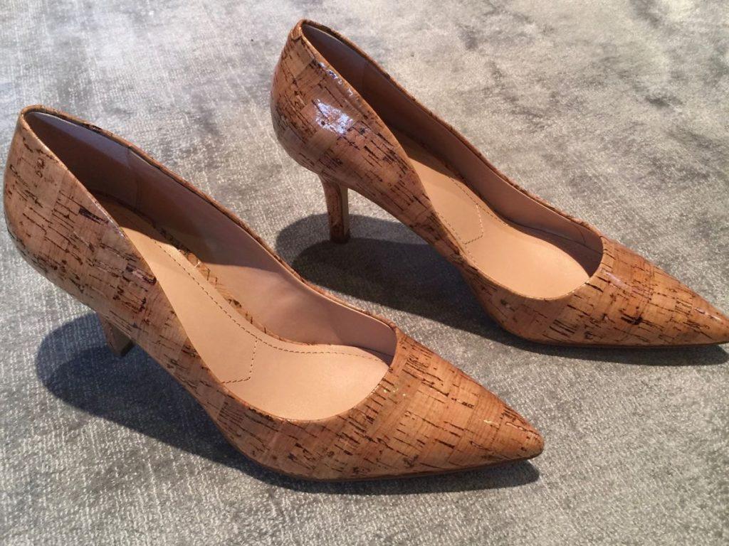 cork highheels