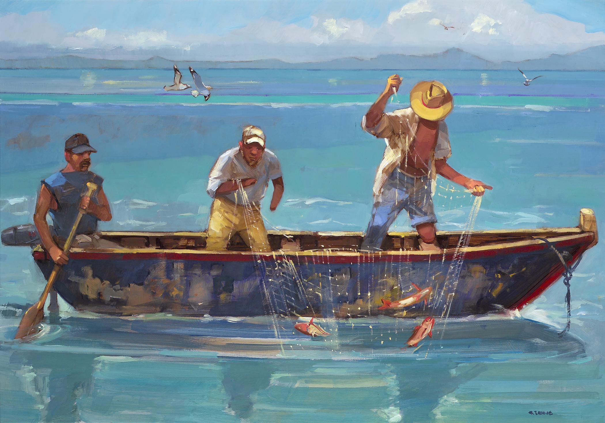 Fishermen, Poneloya.jpg