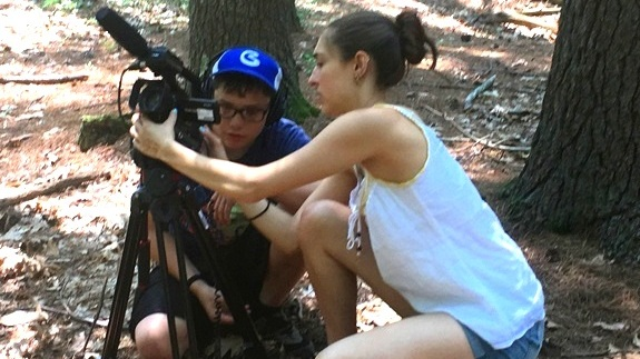 A videographer helped students to make a film about historical figures from Framingham's past